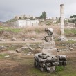 Ruins of Artemision in Ephesus — Stock Photo