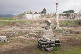 Ruins of Artemision in Ephesus — Stock Photo