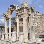 The temple of Hadrian, Ephesos, Turkey — Stock Photo