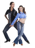 Dancing couple — Fotografia Stock