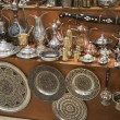 Foto Stock: Metal dishware shop