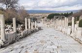 Ancient greek town of Ephesus in Turkey — Stock Photo