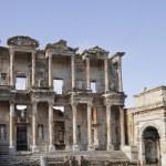 Celsus library in Ephesus — Stock Photo #41740645