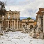 Celsus library in Ephesus — Stock Photo #42251667