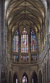 Saint Vit cathedral in Prague — Stockfoto