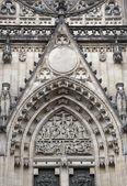 Door of Saint Vit cathedral  — ストック写真