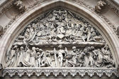 Door of Saint Peter and Paul cathedral  — ストック写真