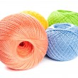 Stock Photo: Colorful Knitting Balls