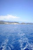 Blue sea and perfect sky — Stock Photo
