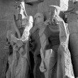 Sagrada Familia grieving group — Stock Photo