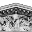 paris pantheon facade — Stock Photo