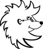 Hedgehog — Stock Vector