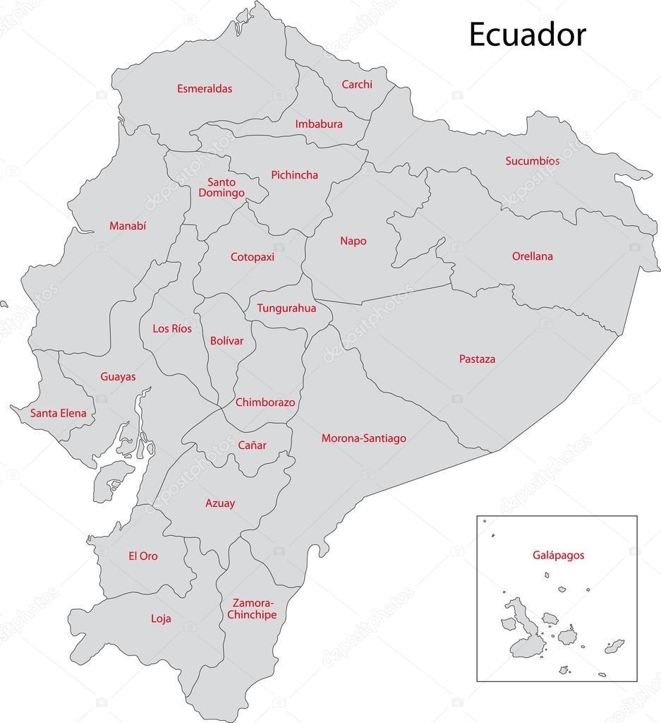 Ecuador Vector Ecuador — Vector de Volina