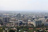 Skyline of Almaty city — Stock Photo