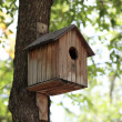 Wooden nest box — Stock Photo #12754219