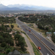 Highway in Almaty — Foto Stock