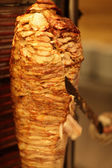 Cooking of shawarma — Stock Photo