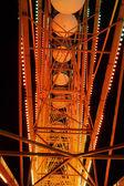 Part of Ferris Wheel at night — Stock Photo