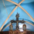 Interior of greek church - Foto Stock