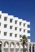 White hotel — Stock Photo