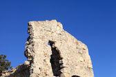莫诺利索斯在罗得岛的片段城堡 — 图库照片