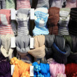 Stock Photo: Scarves
