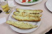Pane con formaggio — Foto Stock
