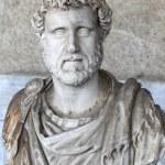 Bust of Roman emperor Antoninus Pius — Stock Photo