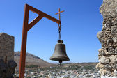 Bell in Archangelos village — Stock Photo