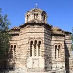 Byzantine Church the Holy Apostles — Stock Photo
