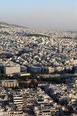 Skyline di atene — Foto Stock