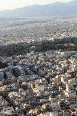 Aten stadsutsikt — Stockfoto