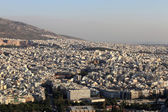 Overview of Athens — Stockfoto