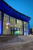 Edificio en la noche — Foto de Stock