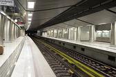 En el interior de la estación de metro — Foto de Stock