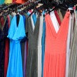 Summer dresses at market — Stock Photo #19577449