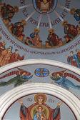Innenseite der kashveti kirche — Stockfoto