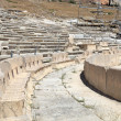 Fragment of Athens Theater of Dionysus — Stock Photo
