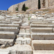 Stone seats in Theater of Dionysus — Stock Photo