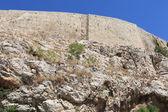 Vägg av akropolis i aten — Stockfoto