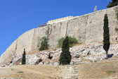 Side of Acropolis of Athens — Stock Photo