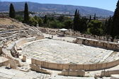 Remains of the Theater of Dionysus — Stock Photo
