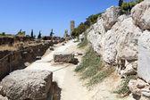 Ruins near Acropolis of Athens — Stock Photo