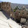 Stock Photo: Ancient Odeon of Herodes Atticus