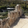 Stock Photo: Details of ancient Odeon of Herodes Atticus