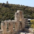 Stock Photo: Details of wall of Odeon of Herodes Atticus