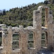Stock Photo: Element of wall of Odeon of Herodes Atticus