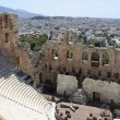 Stock Photo: Part of Odeon of Herodes Atticus