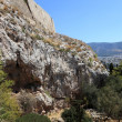 Southwest slope of the Acropolis — Stock Photo