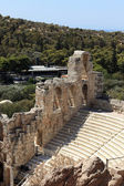 Details of ancient Odeon of Herodes Atticus — Stock Photo